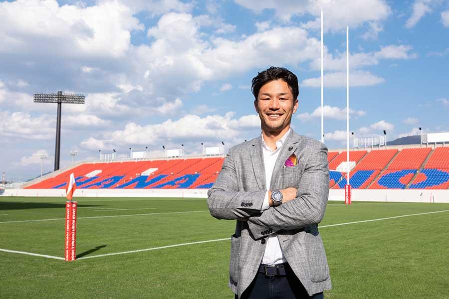ラグビーワールドカップ2019アンバサダーを務める廣瀬俊朗氏