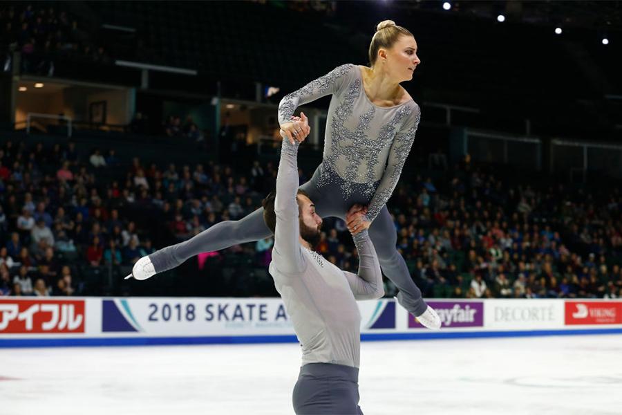 アシュリー・ケイン、ティモシー・ルデュク【写真:Getty Images】