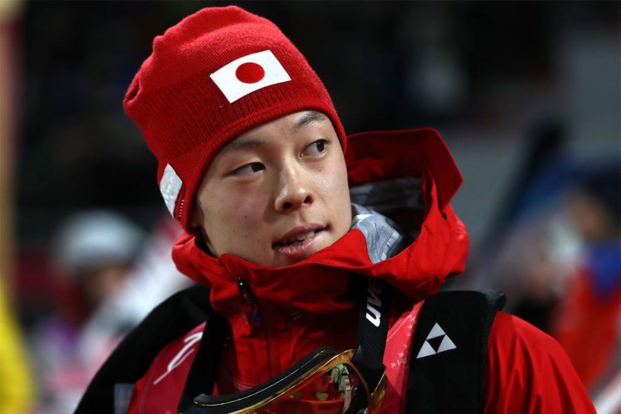W杯総合得点でトップを走る小林陵侑【写真:Getty Images】