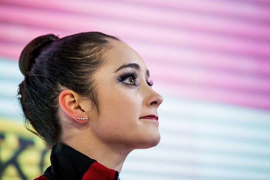 、昨季の世界選手権女王ケイトリン・オズモンド【写真:Getty Images】