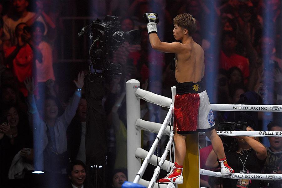 WBSSバンタム級準決勝進出を決めた井上尚弥【写真:Getty Images】