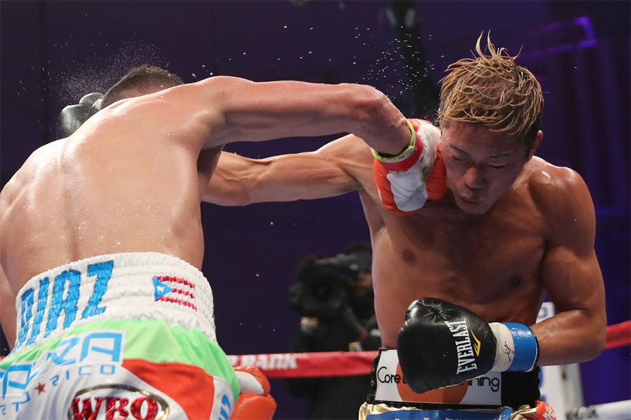 WBO世界スーパーフェザー級王者の伊藤雅雪【写真:Getty Images】