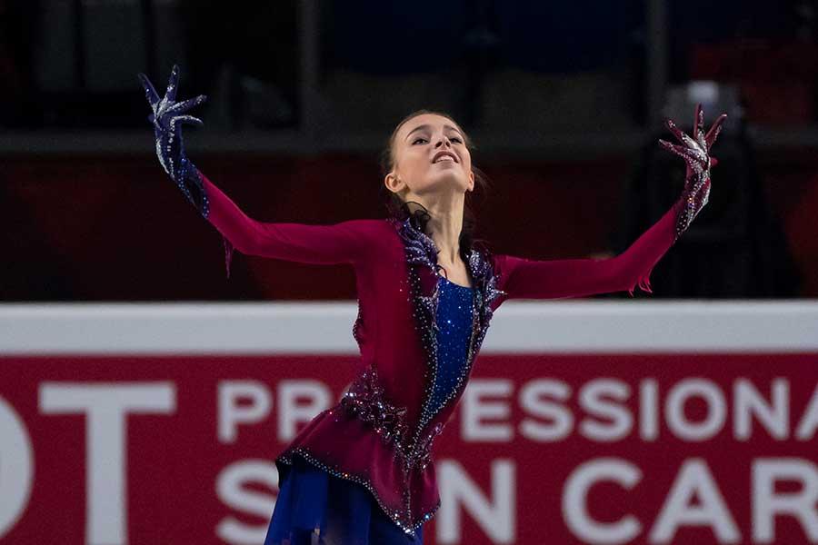 ロシア選手権を制したシェルバコワ【写真:Getty Images】