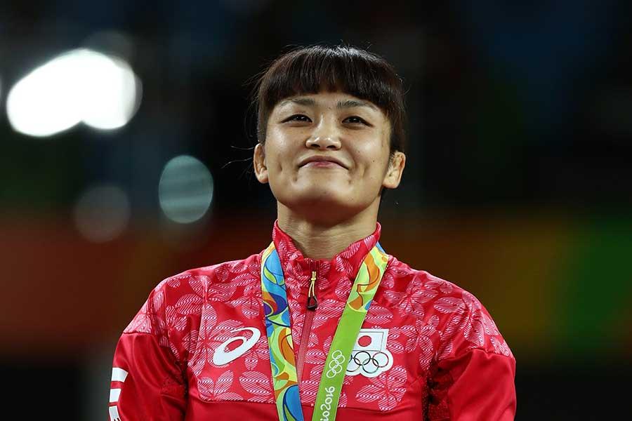 五輪4連覇の伊調馨【写真:Getty Images】