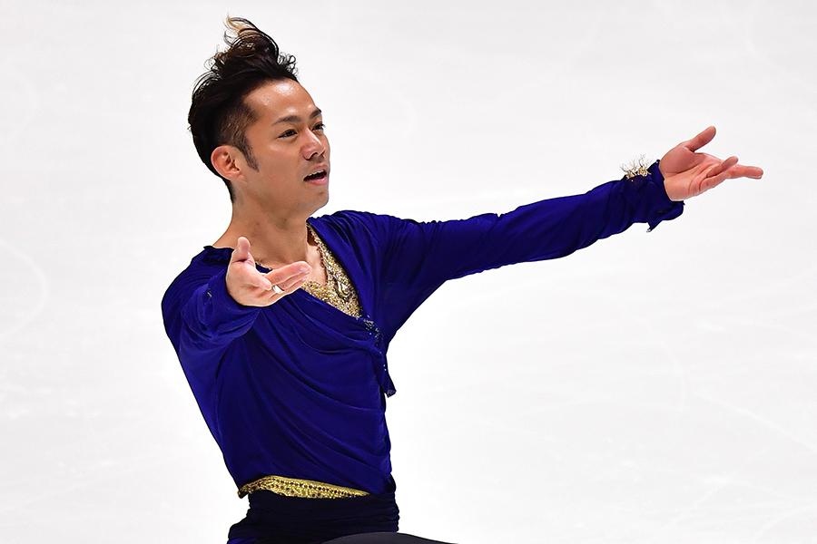 全日本選手権に5年ぶりに戻ってきた高橋大輔【写真:Getty Images】