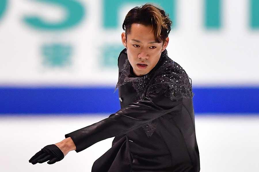 世界選手権の辞退を表明した高橋大輔【写真:Getty Images】