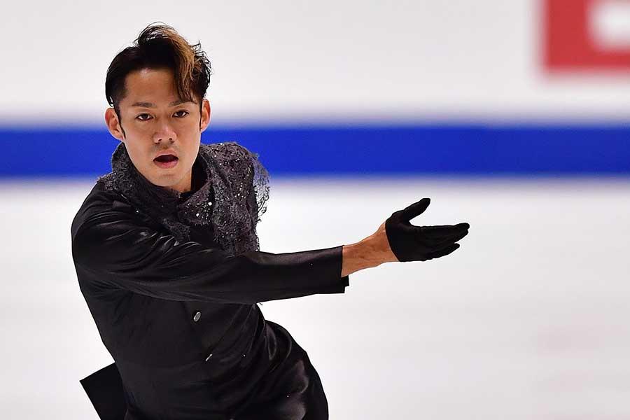 全日本選手権で2位に入った高橋大輔【写真:Getty Images】