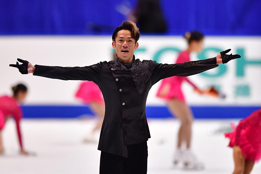 5年ぶりの全日本選手権で2位に入った高橋大輔【写真:Getty Images】