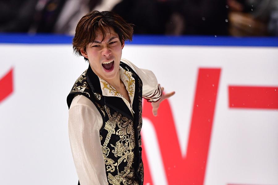 全日本選手権3位の田中刑事【写真:Getty Images】