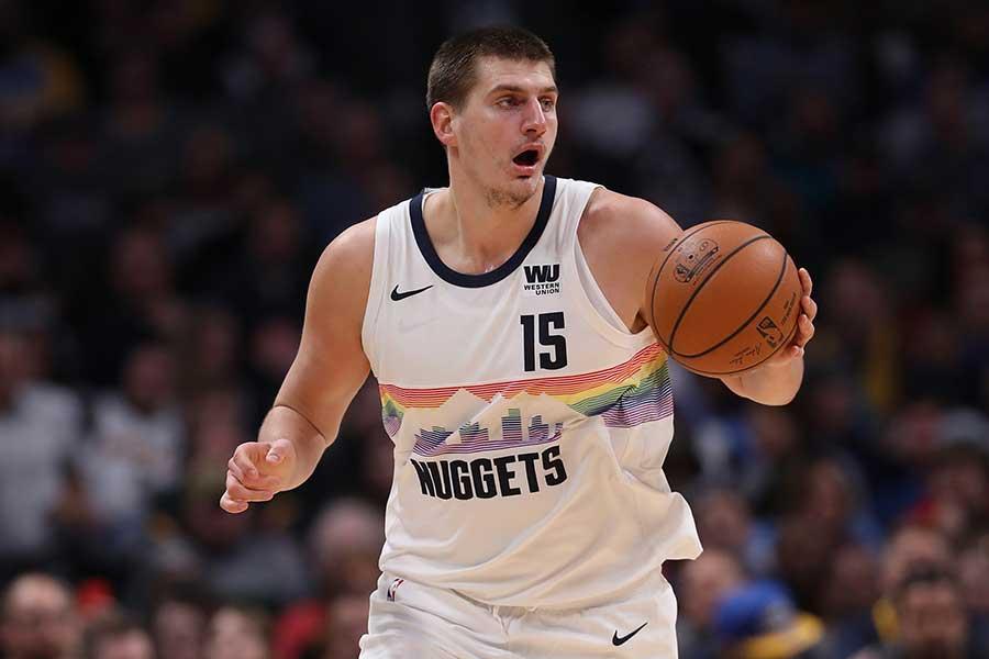 NBAナゲッツの二コラ・ヨキッチ【写真:Getty Images】