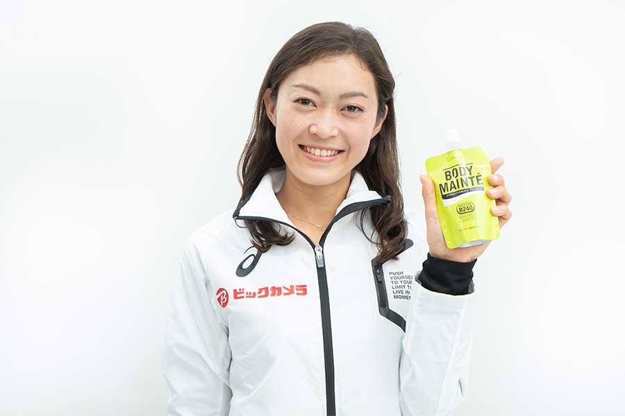 日本女子競歩界のトップランカー、岡田久美子のコンディションを支える「ボディメンテ」