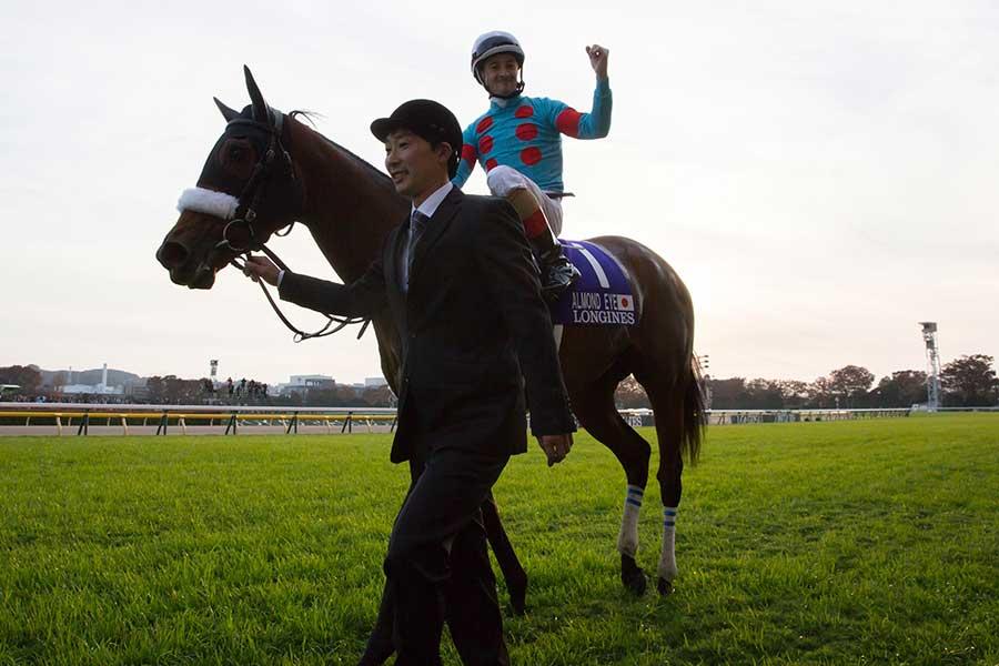 年度代表馬に輝いたアーモンドアイ【写真:Getty Images】
