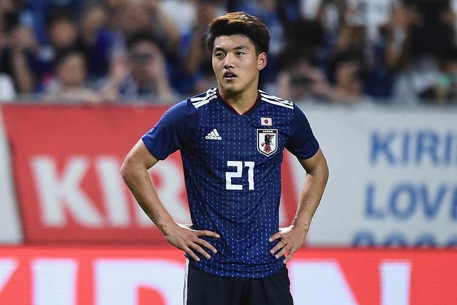 サッカー日本代表のMF堂安律【写真:Getty Images】