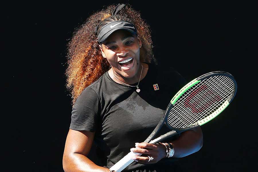 全豪オープンに出場するセリーナ・ウィリアムズ【写真:Getty Images】