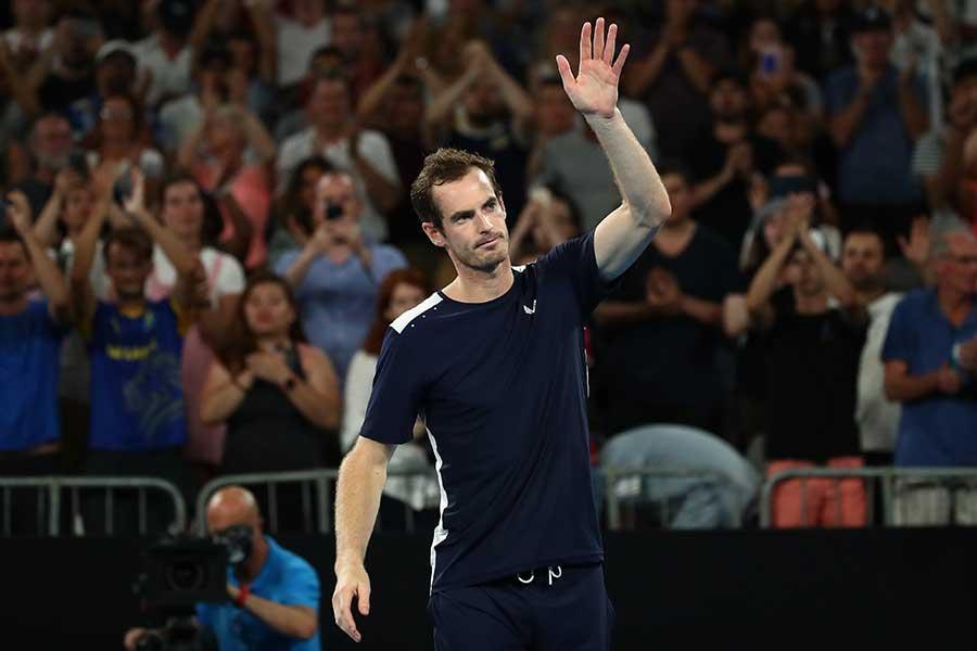 全豪オープン初戦で敗れたアンディー・マレー【写真:Getty Images】