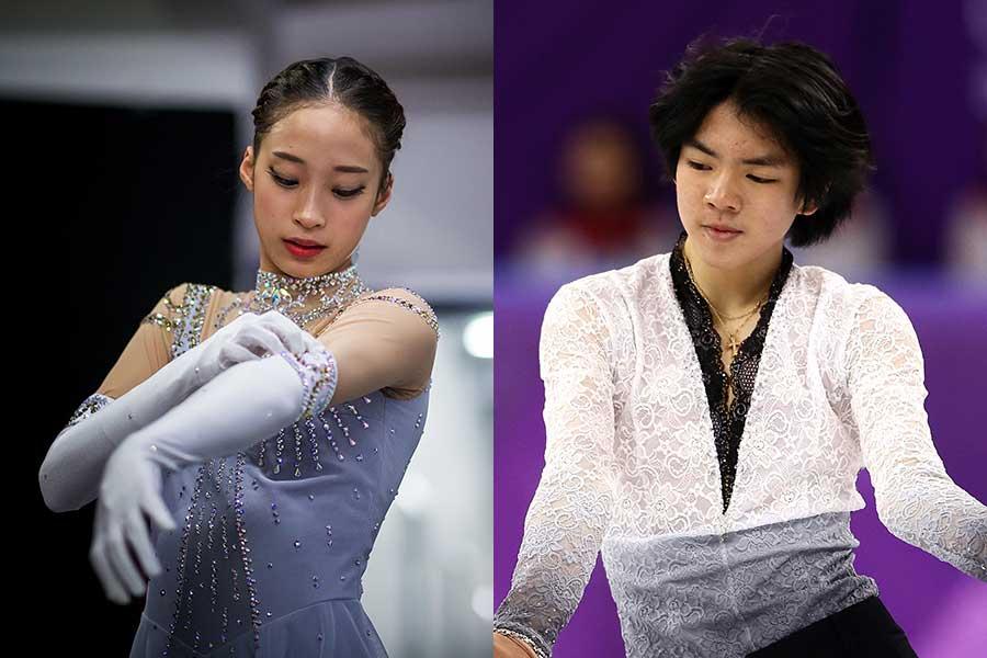 韓国選手権で優勝したユ・ヨン(左)とチャ・ジュンファン(右)【写真:Getty Images】