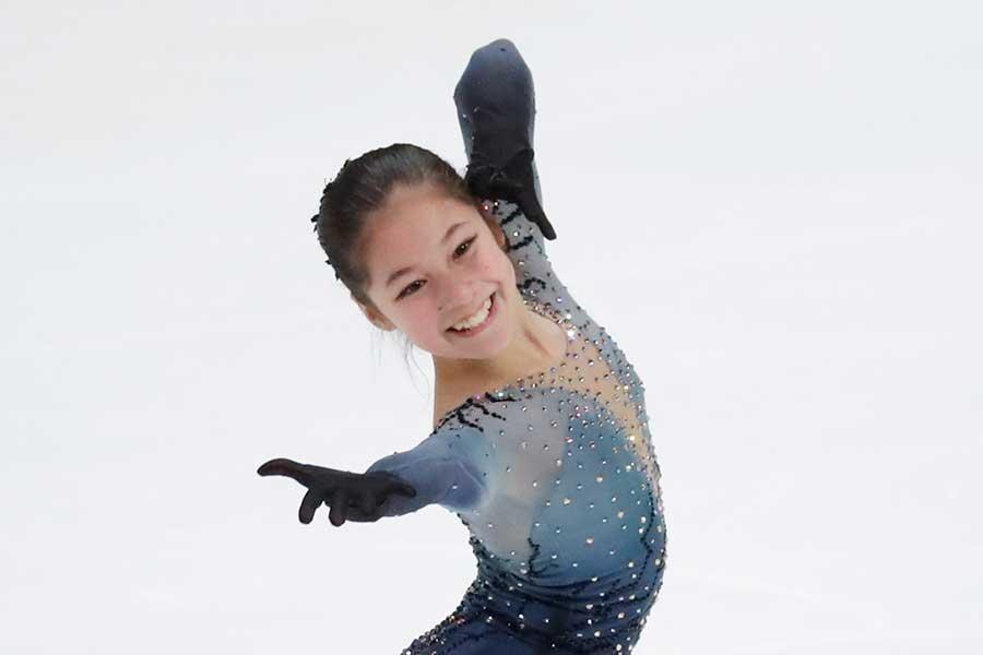 全米選手権で大会史上最年少女王となったアリサ・リウ【写真:AP】