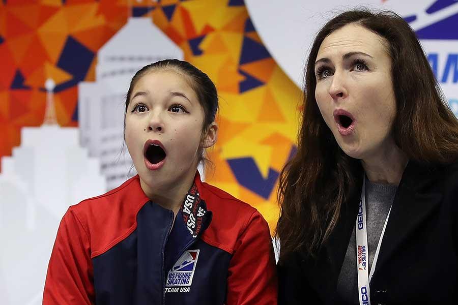 全米選手権で大会史上最年少女王となったアリサ・リウ【写真:Getty Images】