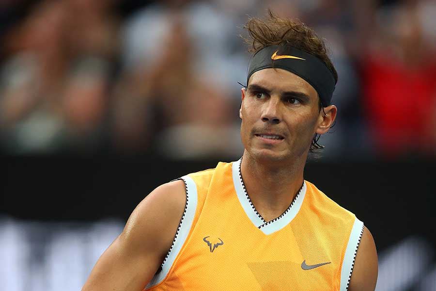 全豪オープンで準優勝を飾ったナダル【写真:Getty Images】