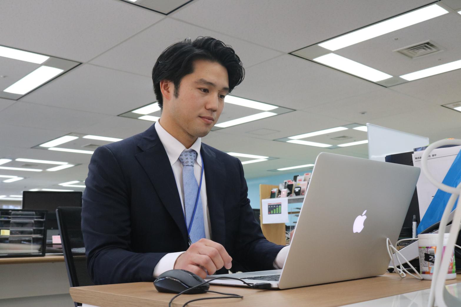 谷田さんは今月から第二の人生をスタート【写真:編集部】