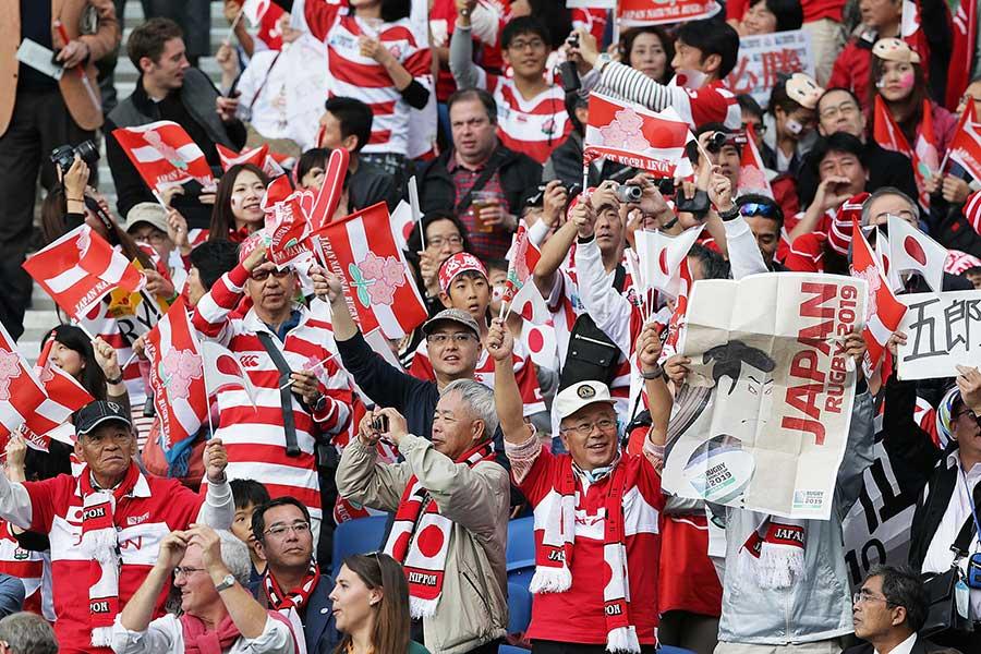 ラグビーワールドカップ2019組織委員会は、日本大会開催に向けた盛り上げを図るために新たな大会アンバサダーを発表した【写真:ラグビーワールドカップ 2019組織委員会】