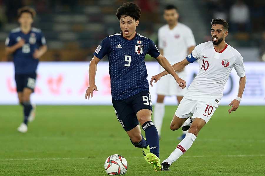 サッカー日本代表の南野拓実【写真:Getty Images】