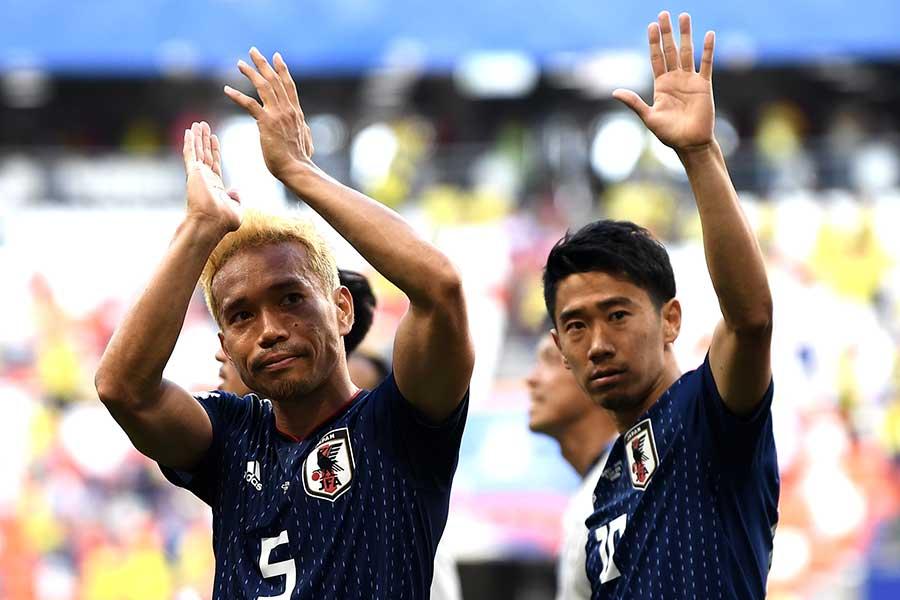 トルコリーグではライバルクラブに身を置くこととなった長友佑都と香川真司【写真:Getty Images】