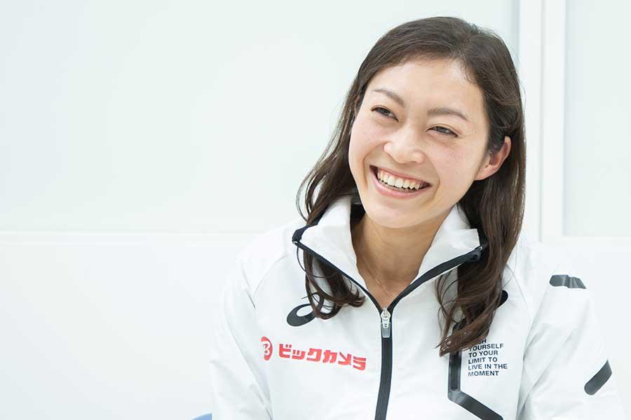 28歳で迎える東京五輪でのメダルを見据える【写真:荒川祐史】