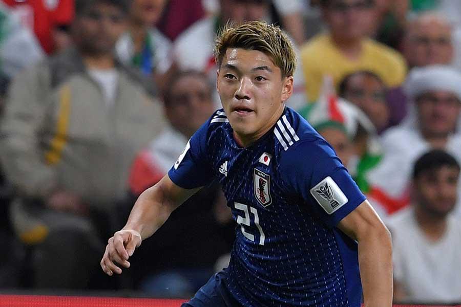 サッカー日本代表MF堂安律【写真:Getty Images】