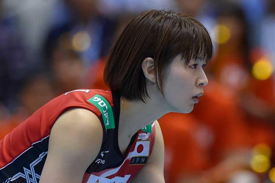 女子バレー元日本代表の木村沙織さん【写真:Getty Images】