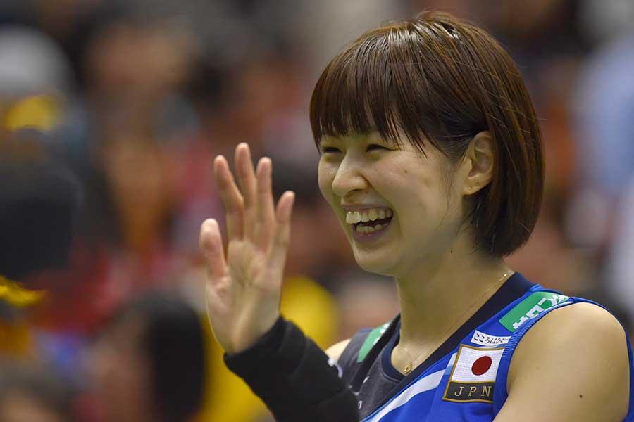 女子バレー元日本代表の木村沙織【写真:Getty Images】
