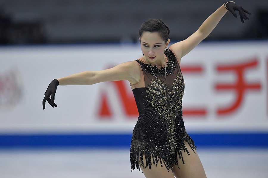 エリザベータ・トゥクタミシェワ【写真:Getty Images】