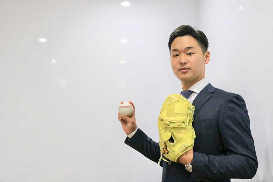 会社員生活から一転、異例の米挑戦する内田聖人【写真:編集部】