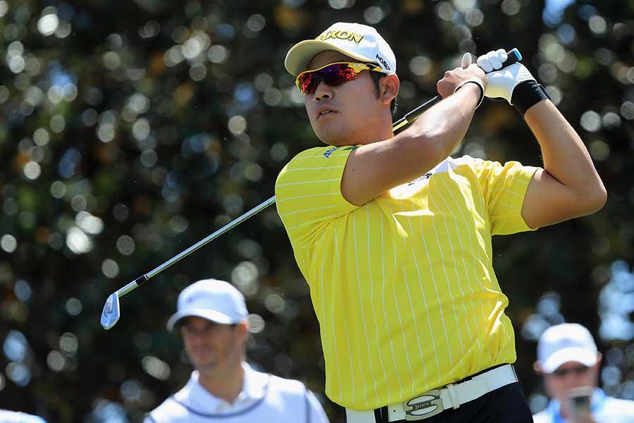 2018年PGAツアー第19戦 アーノルド・パーマー招待2日目の松山【写真:Getty Images】