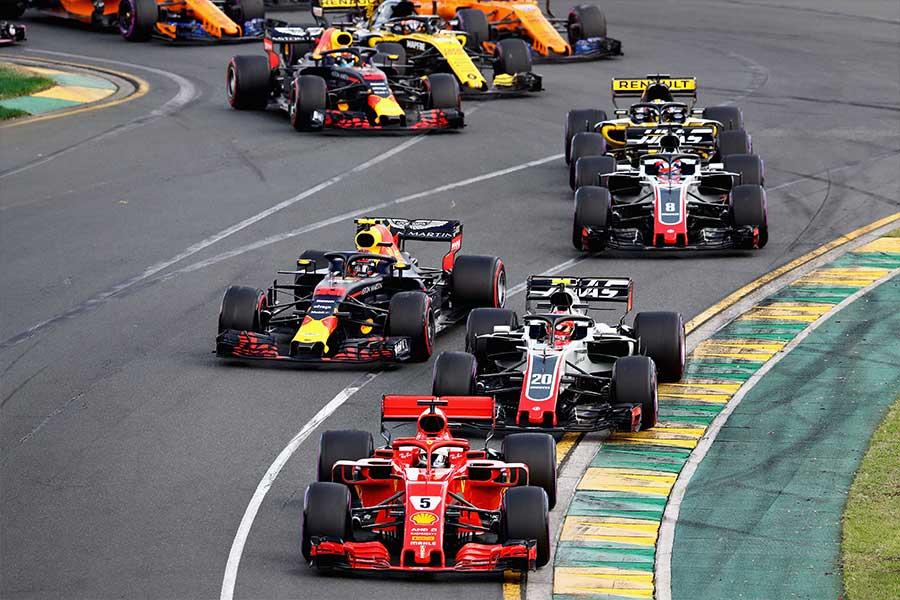 2018年のオーストラリアGP【写真:Getty Images】