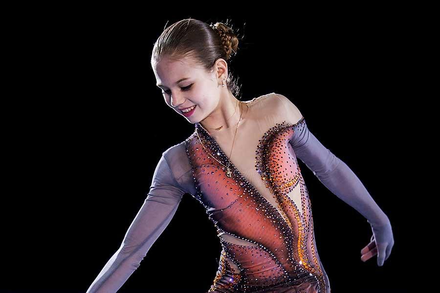 世界ジュニア選手権を制したトルソワ【写真:Getty Images】