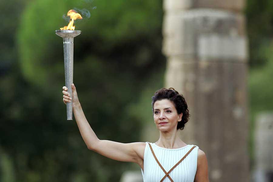 オリンピック聖火【写真:Getty Images】