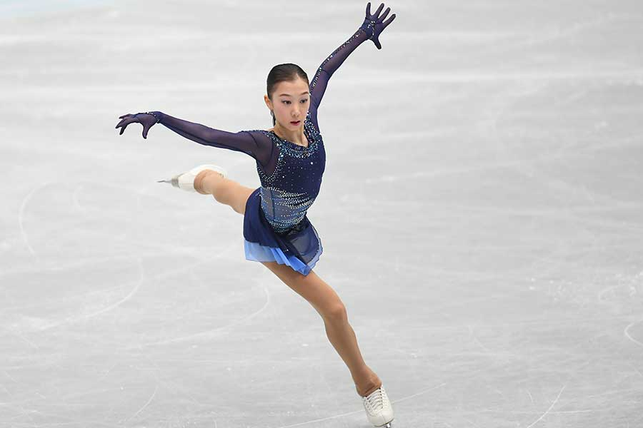 SP3位のエリザベート・トゥルシンバエワ【写真:Getty Images】