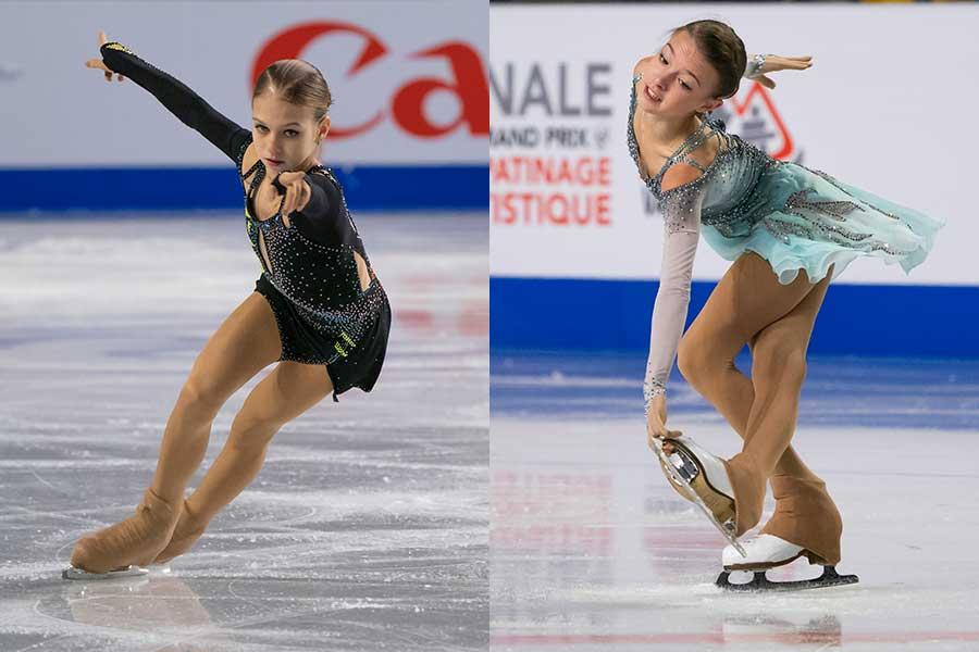 アレクサンドラ・トルソワとアンナ・シェルバコワ【写真:Getty Images】