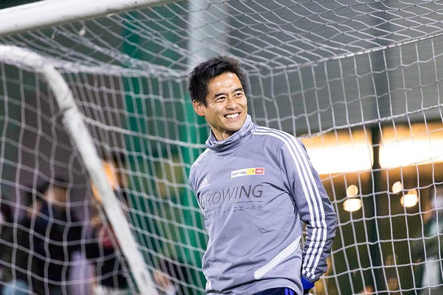 「自分たちからスポーツを楽しみ、健康を作っていく意識が大事」と川口氏は語った【写真:松橋晶子】