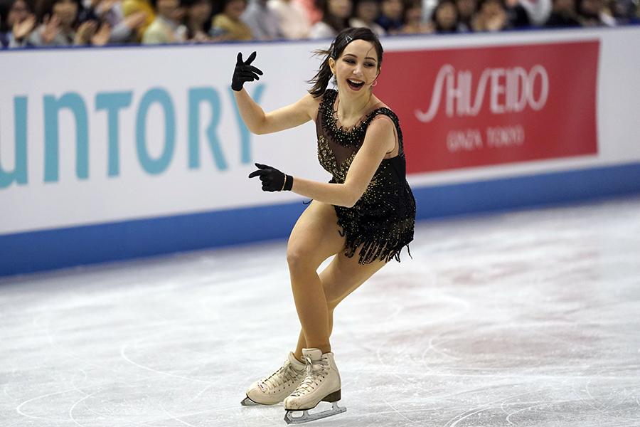 エリザベータ・トゥクタミシェワ【写真:AP】