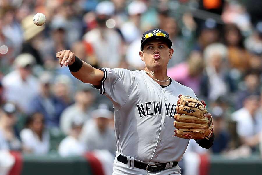 ヤンキースのジョバンニ・ウルシェラ【写真:Getty Images】