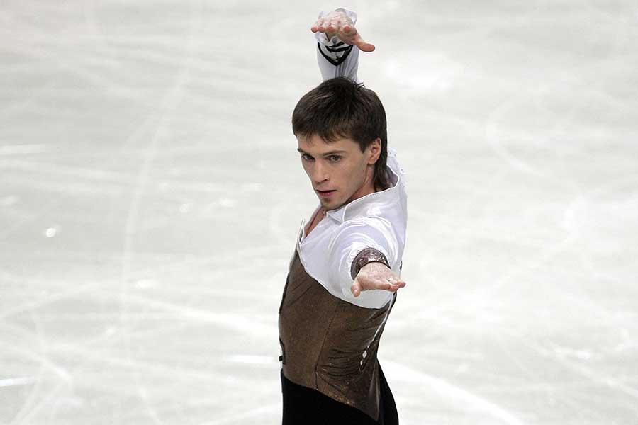 セルゲイ・ダヴイドフ氏(写真は現役時代)の教え子、ベリャフスキーが5回転ジャンプに成功【写真:Getty Images】