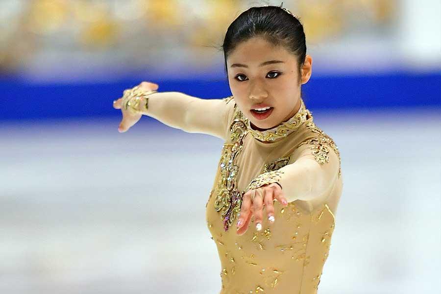 細田采花【写真:Getty Images】