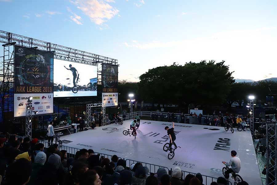 ストリートスポーツの世界大会「ARK LEAGUE 2019」が神奈川県寒川町にあるさむかわ中央公園で開幕【写真:荒川祐史】