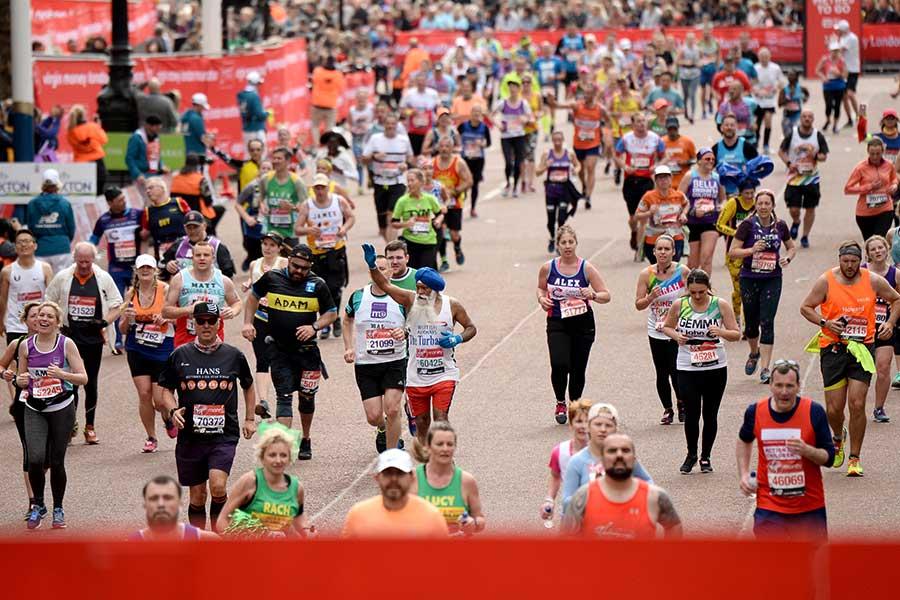 ロンドン・マラソン【写真:Getty Images】
