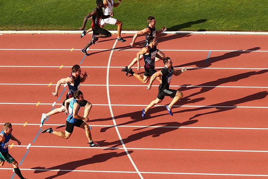 100メートルで9秒98を出した米国の高校生がリレーでも快走(写真はイメージです)【写真:Getty Images】