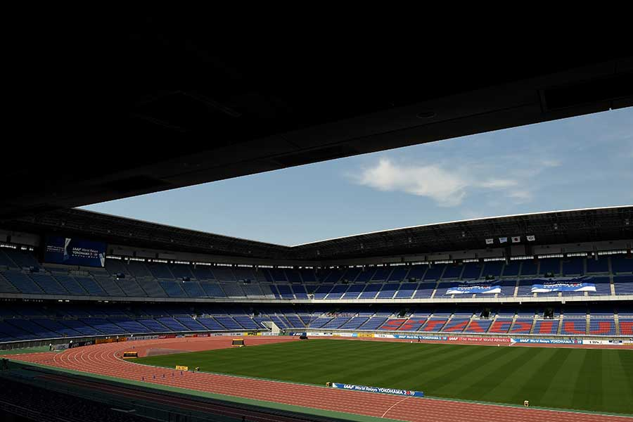 W杯決勝が行われる横浜国際総合競技場【写真:Getty Images】