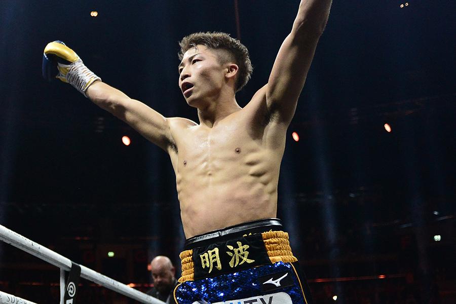 新たにIBF王座を獲得し、WBSS決勝進出を決めた井上尚弥【写真:Getty Images】