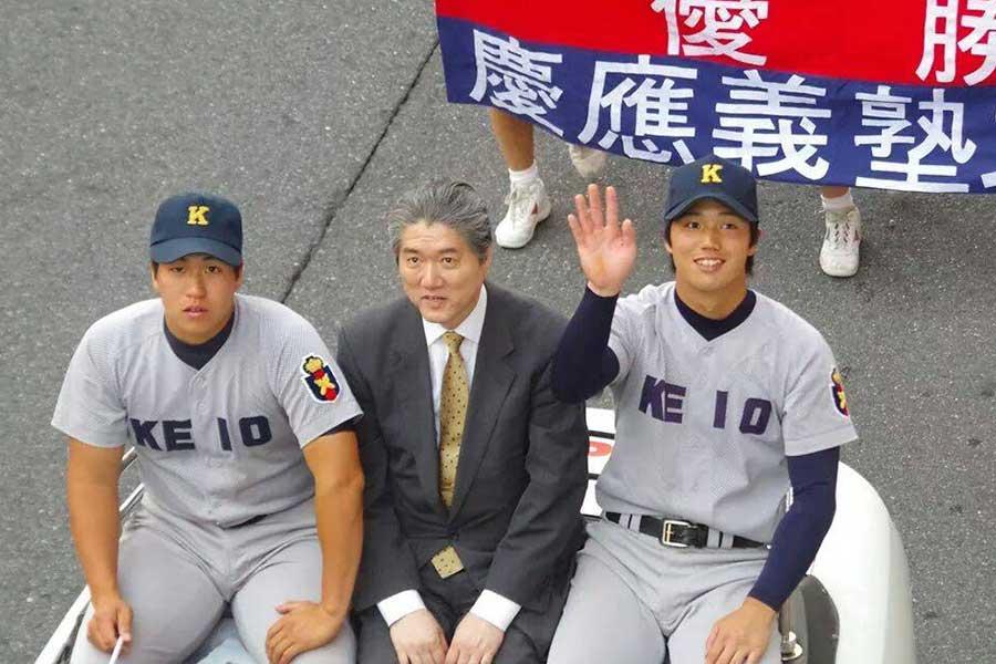 慶応から慶大で世代別日本代表など、輝かしい実績を持つ谷田成吾【写真:本人提供】